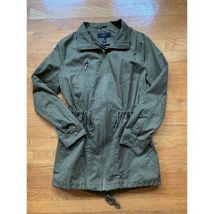 F21 Green Army Utility Jacket